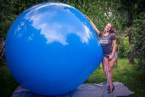 """1 x CATTEX 72"""" Riesen-Luftballon GEMISCHTE FARBEN *Ø 180CM*CLIMB IN*KÜNSTLER*"""
