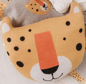 Bizzi Growin Leopard Shaped Cushion