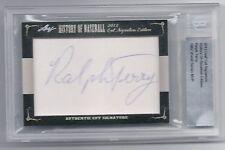 2012 Leaf Cut Signature History Of Baseball Ralph Terry autograph card Beckett