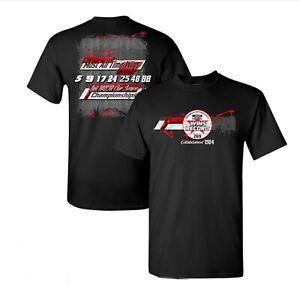 "Hendrick Motorsports 269 ""Most All Time Wins"" 2 Spot Adult Tee - Black Size - XL"