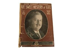Vintage Sheet Music Victor Herbert's Masterpiece Ah! Sweet Mystery of Life 1910