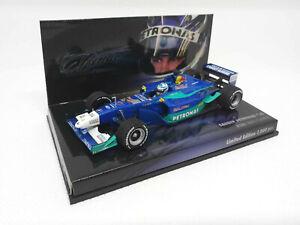 MINICHAMPS 1/43 - Sauber Petronas C20 2001 - Kimi Raikkonen The Iceman 403010017