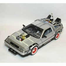 Welly Diecast Back to the Future 3 Delorean - 1:24 Scale Diecast Car