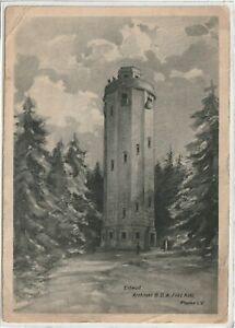 Ansichtskarte Aussichtsturm auf dem Kapellenberg in Schönberg/Bad Brambach 1926