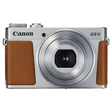 Canon PowerShot G9X Mark II 20.1MP Digital Camera 3x Optical Zoom Silver Full-HD