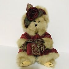 The Bearington Collection Teddy Bears Virginia 1072 Retired Christmas Plush Tags