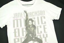New Vintage Rare 1990 JANET JACKSON Rhythm Nation World Tour T-Shirt S-5XL
