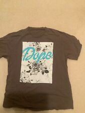 gray t shirt dope flowers hipster swag xl vintage