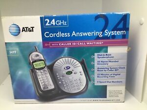 AT7T 2.4 GHZ CORDLESS ANSWERING SYSTEM 1477 Untested