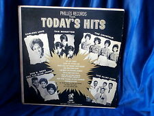 TODAY'S HITS~VARIOUS ARTIST~ DARLENE LOVE~RONETTES~CRYSTALS~ALLEY CATS ~ POP  LP