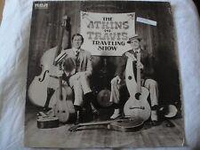 CHET ATKINS & MERLE TRAVIS THE ATKINS TRAVIS TRAVELING SHOW VINYL LP 1974 RCA EX