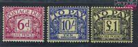 Großbritannien P65-P67 postfrisch 1962 Portomarke (6752645