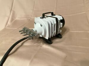 Very Powerful Aquariam Air Pump Hardly Used Would Power Large Tank