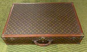 Vintage Louis Vuitton Bisten 80 Monogram Hard Suitcase Trunk
