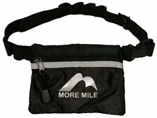 More Mile Running Cycling Gel Belt Bag with Zipped Pouch *NEW*