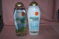 Organix Coconut Water Weightless Hydration Shampoo & Conditioner NEW 19.5 oz Ea.