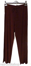 PLAIN LOOSE FIT JERSEY TROUSERS - MADE IN UK - SIZES M TO XXL - ALL NEW