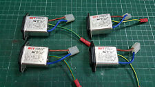 4 X MAIN ELECTRICITY NOISE FILTER / SUPPRESSION 250V 3A IF-0332-W BIT