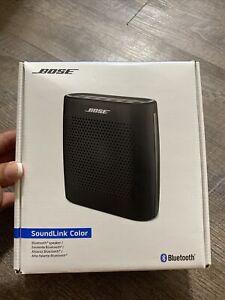 Bose SoundLink Color Bluetooth Speaker - Black New In Box. Box Is Still Sealed.