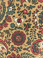 Vintage Polo Ralph Lauren Silk Designer Necktie Stunning Paisley Floral Tie EUC