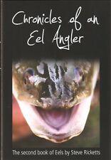 RICKETTS STEVE PREDATOR FISHING BOOK CHRONICLES OF AN EEL ANGLER hardback NEW