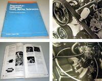VW Golf 1 Scirocco Instandhaltung genau genommen Werkstatthandbuch 1981