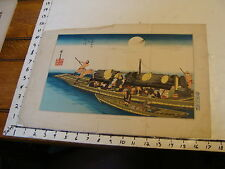 Vintage 1800's Print: 1856 Fac-Simile of a Japanese Drawing---- from Perry book