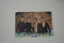 Fource Signed Autograph In Person 10x15 cm 80's would not 't it be nice 2003