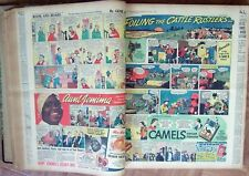 1938 Bound St.Louis Post-Dispatch Newspapers~w/ Color Sunday Comics!