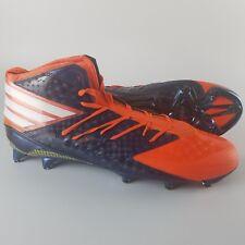 Adidas Freak X Kevlar NFL Football Cleats Men's Size 15 Orange Navy Blue BRONCOS