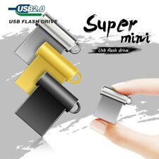 64GB 32GB Mini Short Metal 2.0 USB-Sticks Flash-Laufwerke Speicherstick U Disk