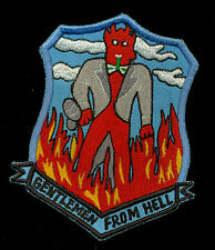 USAF Gentleman From Hell 487th Bomb Group Patch S-24