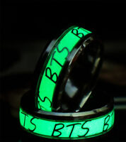 From USA - 1 KPOP BTS Bangtan Boys Ring Glow In The Dark BTS ARMY Merchandise