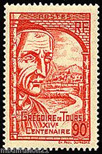 1939 - TIMBRE FRANCE NEUF**GREGOIRE DE TOURS - CLERMOND-FERRAND - STAMP.Yt.442
