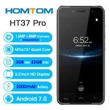 Android7.0 MTK6737 3GB 32GB HOMTOM HT37 Pro Handy Fingerprint 4G 2SIM Smartphone