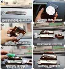 2PCS Pad Dash Non Slip Mat Sticky Holder Black Car Anti Slip For Mobile Phone