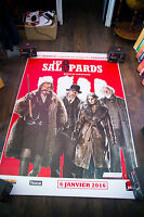 THE HATEFUL EIGHT B 4x6 ft Bus Shelter D/S Movie Poster Original 2016