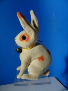 Seltener alter Steiff Hase * Rabbit * Vorkriegsmodell * Samtausführung mit Knopf