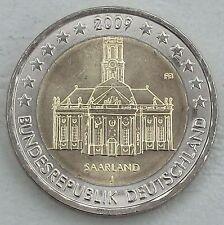 2 euro Allemagne 2009 J sarre unz