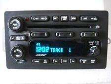 Chevrolet Buick Trailblazer Envoy OEM BOSE 6 CD Player Changer Radio 10359565