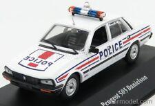 Edicola 7598080 scala 1/43 peugeot 505 police 1983 white