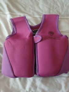 Girls Swim Vest Size with removable inserts 2-3