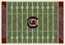 "5x8 Milliken South Carolina Gamecocks NCAA Field Area Rug - Approx 5'4""x7'8"""