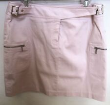 DALIA CASUAL ROSE/PINK COTTON SKIRT SIZE 12 NWT MADE IN CANADA