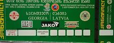 TICKET 2.9.2011 Georgien Georgia - Lettland Latvia