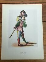 1946 french impressionists print - edouard manet . punch