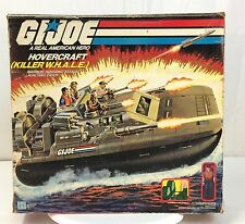 1984 Killer Whale Hovercraft  BOX ONLY~  ~~ NICE ~~  ~ GI JOE ~~ BOX ONLY ~~  b