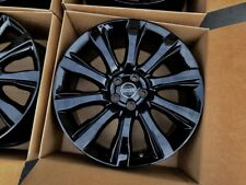 "Black 21"" Range Rover Land Supercharged 2014-2019 rim wheel Factory OEM 21"
