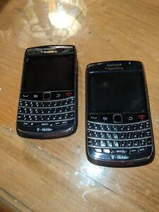 BlackBerry Bold 9700 - Black (T-Mobile) Smartphones - Set of 2 - Great Condition