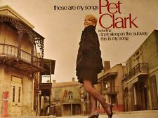 "PETULA   CLARK ( PET)- THESE ARE MY SONGS -PYE  12"" VINYL LP"